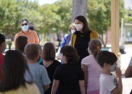 Επίσκεψη Κεραμέως σε σχολεία της Λαμίας και της Φθιώτιδας, 2η ημέρα της δια ζώσης επαναλειτουργίας